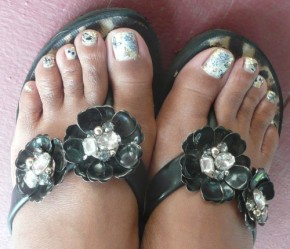 Pretty Summer Pedi