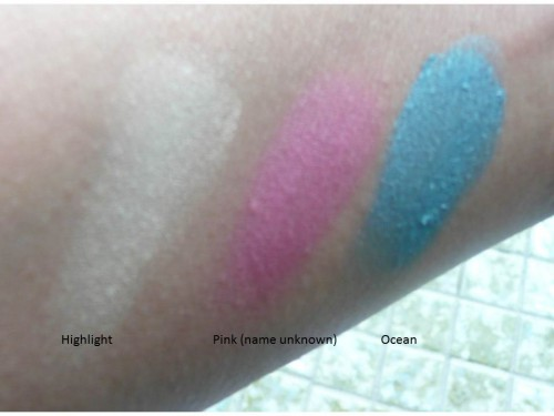 nyx eye shadow swatches