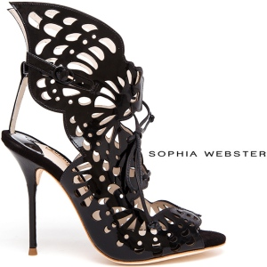 Sophia-Webster-Electra-patent-laser-cut-leather-Spring-2014-lace-up