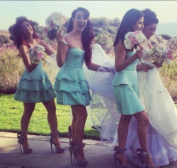 bridal bow sandal