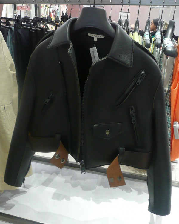 Hache leather jacket