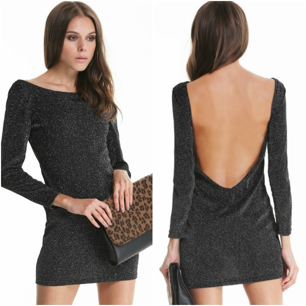 Sheinside Backless Bodycon Dress ($17)