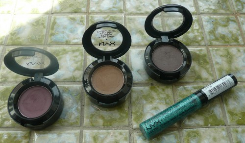 NYX Matte Eyeshadows