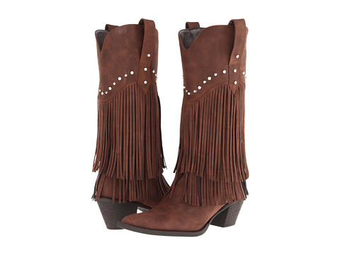 Roper Stud and Fringe Boot
