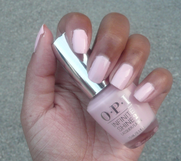OPI Pretty Pink Perserveres