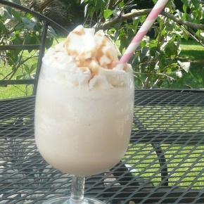 Caramel Hazelnut CoffeeFrappe